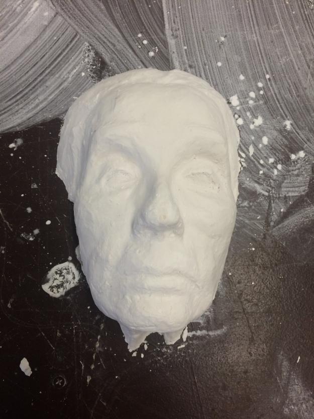 casted portrait